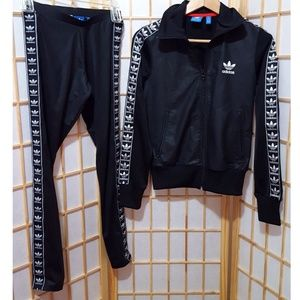 b7f4fb1ec2f adidas Jackets   Coats - 2PC🖤Adidas Berlin Track Jacket Leggings Set XS